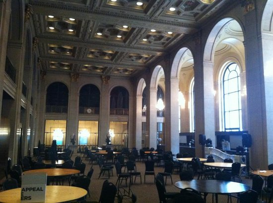 One King West Hotel & Residence: The Grand Banking Hall on 2nd Floor