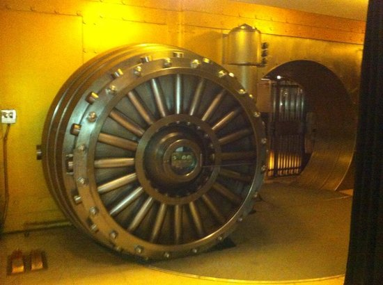 One King West Hotel & Residence: The Vault Door in the basement