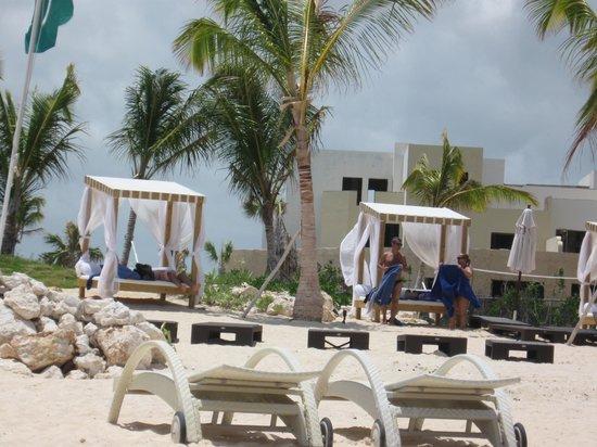 Alsol Luxury Village: Private beach