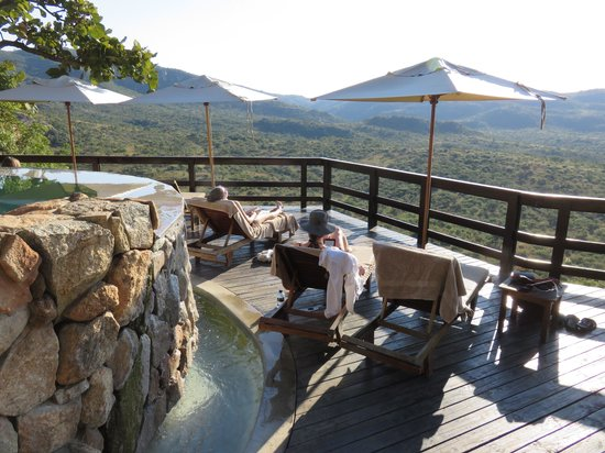 Bongani Mountain Lodge : View from the deck