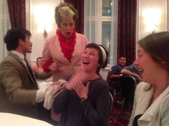 Faulty Towers the Dining Experience: A shocked Cybil