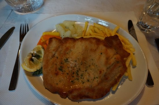 Hotel Oberland Restaurant : meals