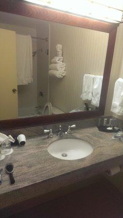 Millennium Harvest House: The bathroom