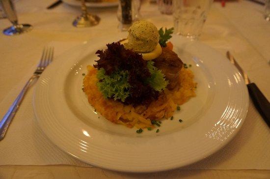 Hotel Oberland Restaurant : Rosti