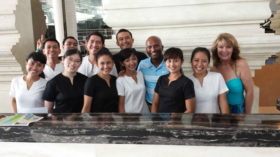 The Stones Hotel - Legian Bali, Autograph Collection: fabulous team!