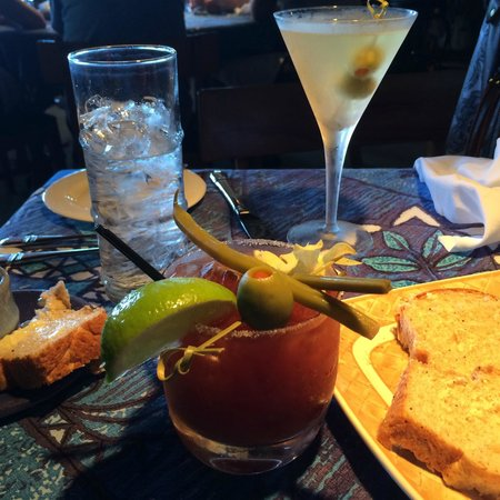 Mama's Fish House: The drinks...