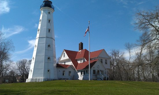 North Point Lighthouse : Exterior view