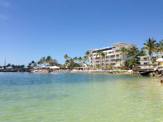 Postcard Inn Beach Resort & Marina : view from the sea