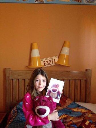 Disney's Hotel Santa Fe: enjoying the room at santa fe !