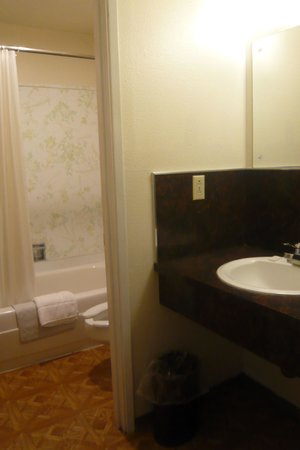 Skagit Motel : Bathroom
