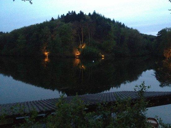 Seehaus Forelle: Blick vom Restaurant