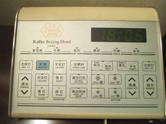 Beijing Hotel NUO : Remote