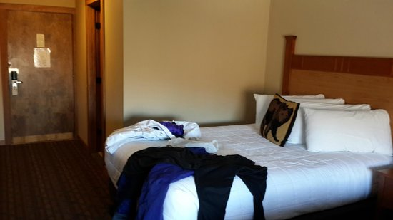 Black Bear Lodge: room