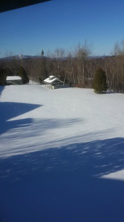 Black Bear Lodge: bromley in the distance