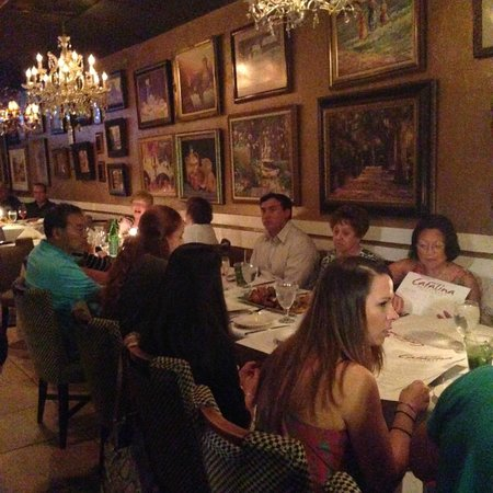 Mario's Catalina Restaurant : Dining Room