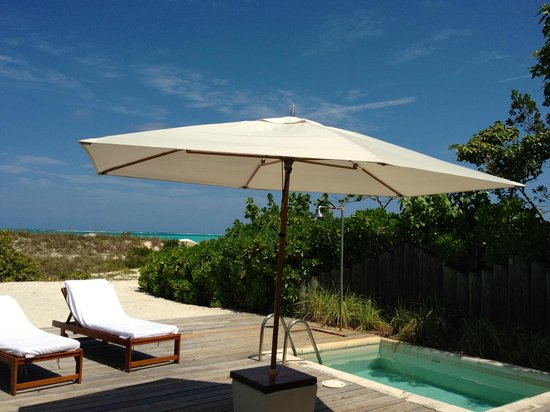 COMO Parrot Cay, Turks and Caicos: our beach house private plunge pool