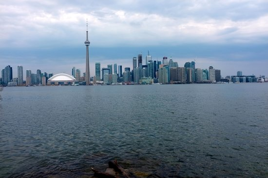 Toronto Bicycle Tours : From the ferry