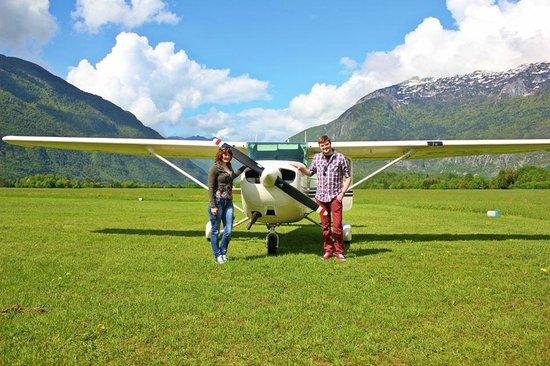 Hotel Kanin: The little plane we flew in :)