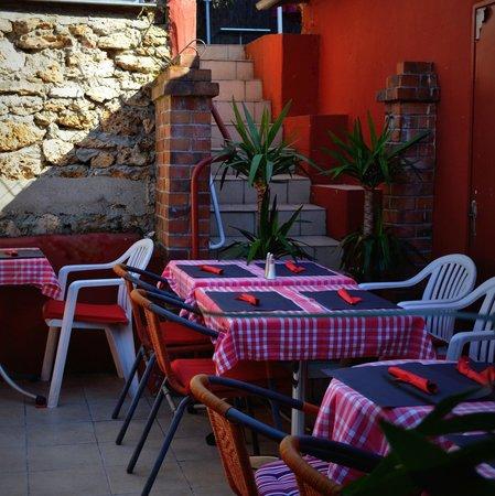 le café du marché : la terrasse