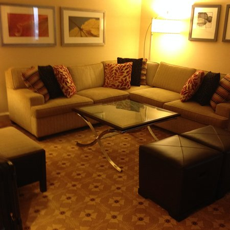 Toronto Airport Marriott Hotel : Livingroom area