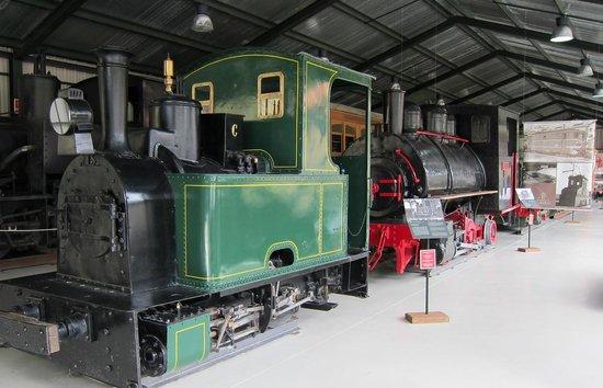 La Pobla de Lillet, สเปน: Narrow gauge exhibit