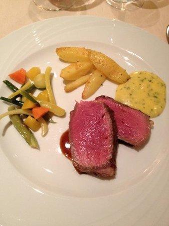 Principe Leopoldo Restaurant : Angus Beef