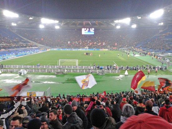 Stadio Olimpico: Jogo entra Roma x Napoli pela Copa da Italia 2014