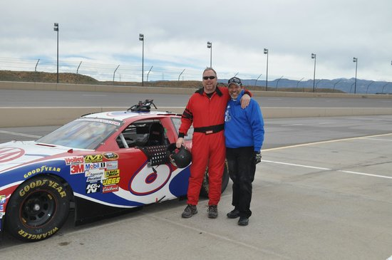 Rusty Wallace Racing Experience: Me and my crew chief