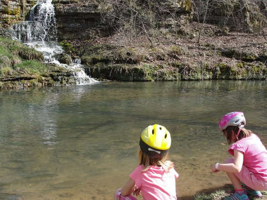 Dogwood Canyon Nature Park: Lots to see along trail