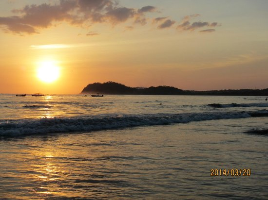 Hotel Villas Playa Samara: Samara Beach Sunset-just beautiful