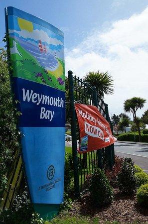 Weymouth Bay Holiday Park - Haven: Main Park Entrance