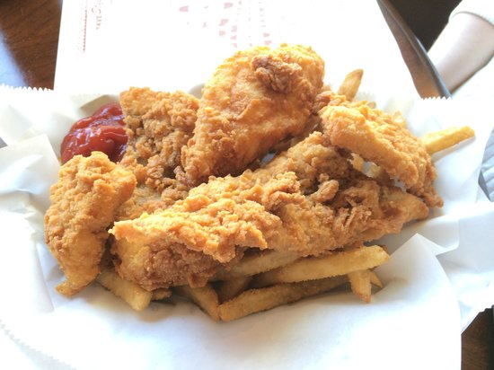 Saltsburg, PA: My wife's fried cod & fry's