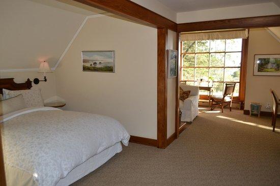Glendeven Inn Mendocino: view from front door
