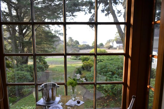 Glendeven Inn Mendocino: view from room, beautiful!