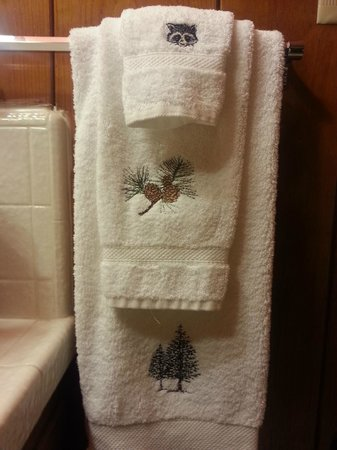 The Kern Lodge: Loved the bath towels