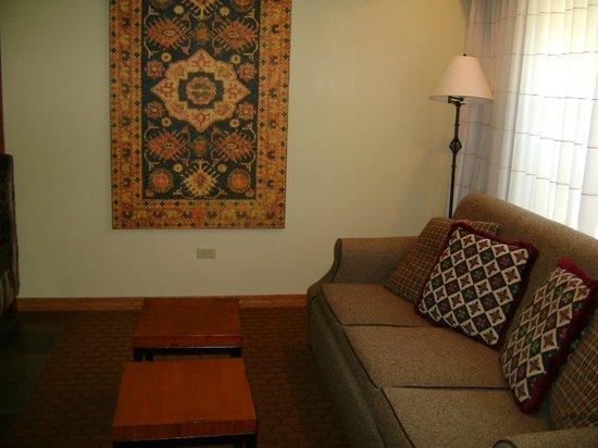 Lodges at Timber Ridge Branson: Living Room