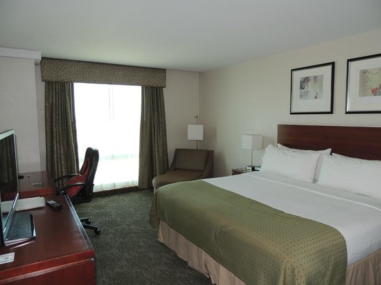 Holiday Inn L.I. City - Manhattan View : Habitacion con cama King