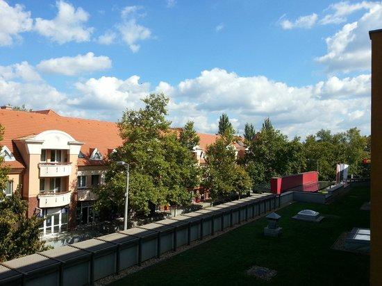 Hunguest Hotel Aqua-Sol: widok z balkonu