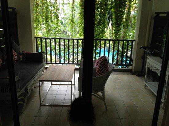 Burasari Resort: Balcony