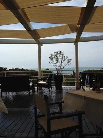 Tombolo Talasso Resort : vista dalla terrazza