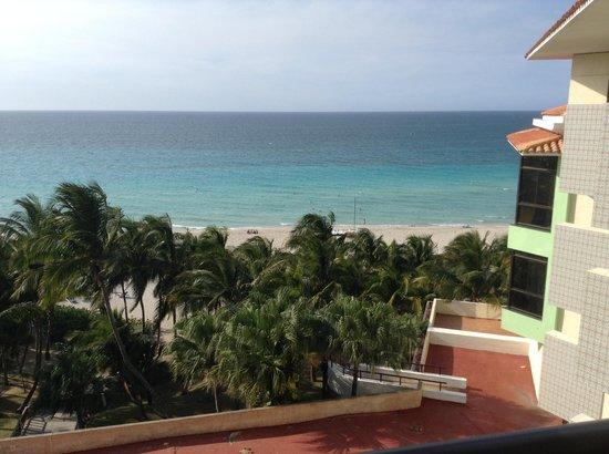 Melia Las Americas: View from room 4304