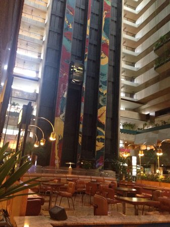 Maksoud Plaza: Vista do lobby