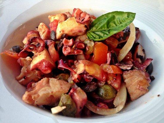 Restaurant Toni : Octopus salad