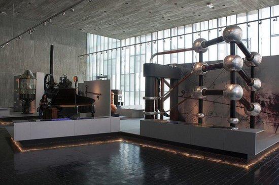 Museo Nacional de Ciencia y Tecnología: Acelerador de particulas