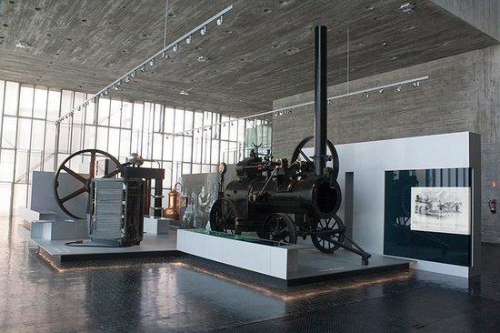 Museo Nacional de Ciencia y Tecnología: Una cafetera?