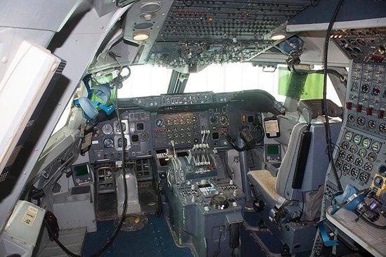 Museo Nacional de Ciencia y Tecnología: Cabina 747