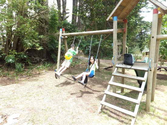 Los Pinos - Cabanas y Jardines: Playground for the kids