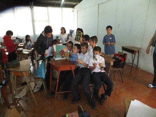Los Pinos - Cabanas y Jardines: Santa Elena School visit