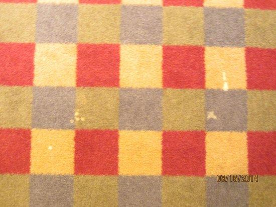 Crowne Plaza Paris Republique : Carpet when entering the room