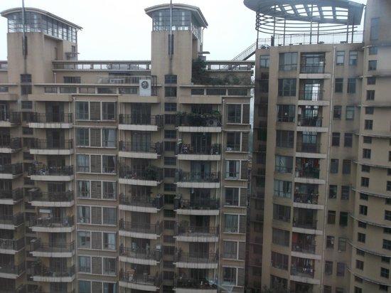 Millennium Hotel Chengdu: view from my room